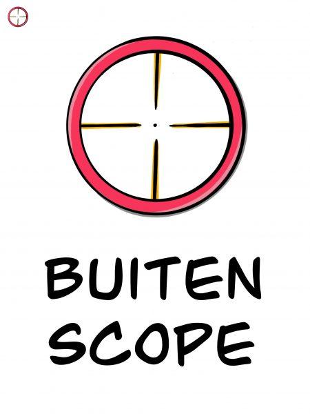Buiten scope